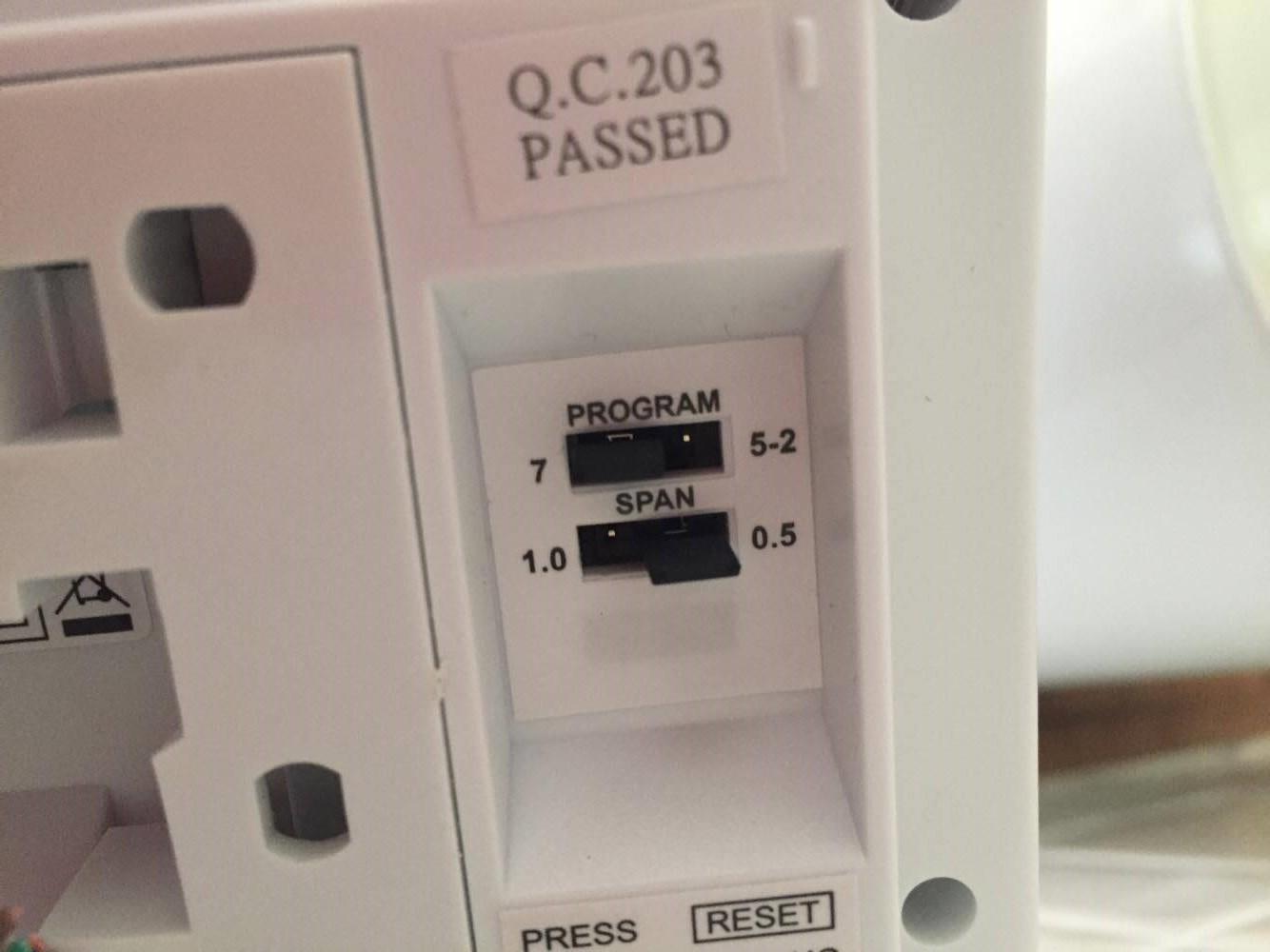 Exa control 7 Oda termostat İnce Ayarlar