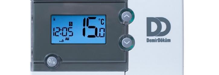 Demirdöküm Exa Control 7 Kablolu Programlanabilir Oda Termostadı Kullanımı