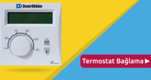 RF 6001 Oda Termostatı Kombiye Nasıl Bağlanır?