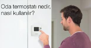 (Bosch) Oda Termostatı Nedir Nasıl Kullanılır