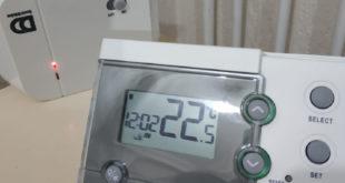 Exacontrol 7R Kablosuz Oda Termostat  Frekans Ayarı