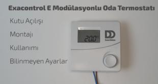 Exacontrol E Oda Termostatı